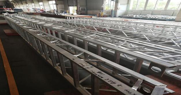 消防车铝合金梯臂架生产源头厂家
