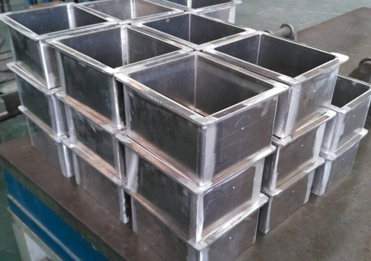 铝结构框架焊接铝箱体铝合金型材焊