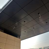 门头灰色铝单板定制武汉铝单板工厂