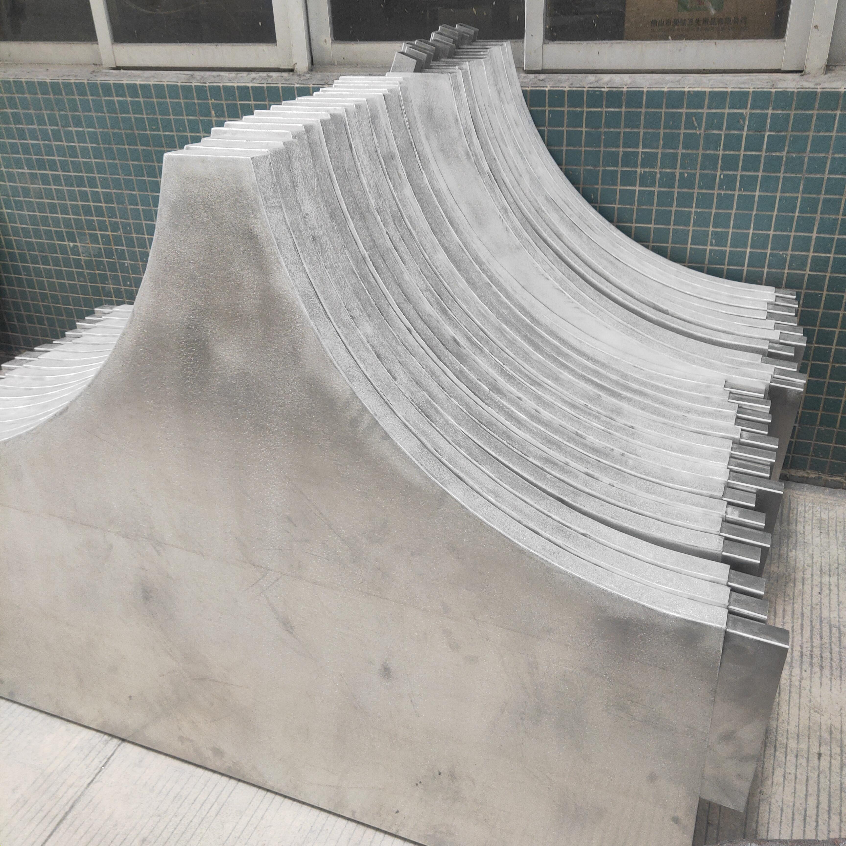 造型铝板异形铝天花佛山工厂定制