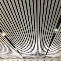 铝格栅吊顶U型铝格栅高铁站天花