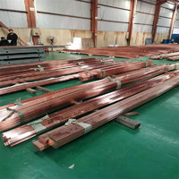 4x40紫铜卷排放热模具焊接铜排