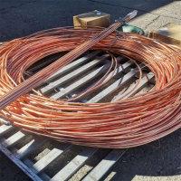 4x25紫铜排放热模具焊接铜排